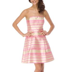 LILLY PULITZER Sherry Dress Pink Glitzy Stripe